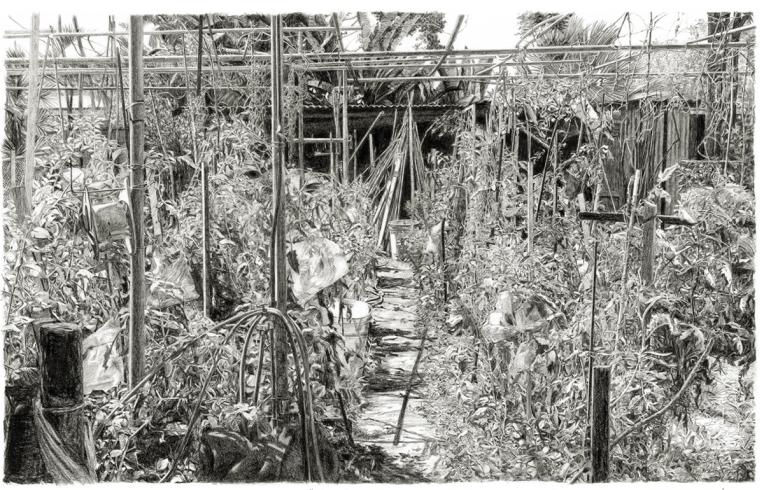 Maria's Garden,Path 1200