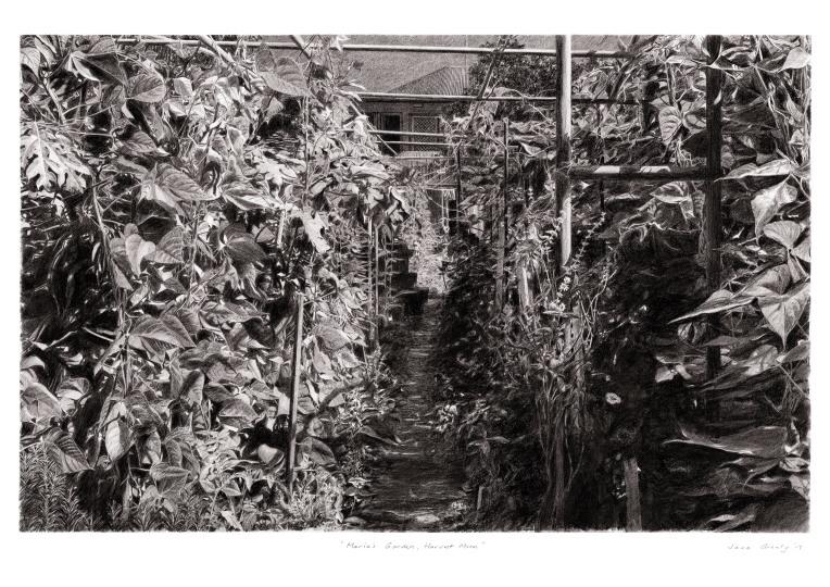 maria's garden, harvest moon - a4